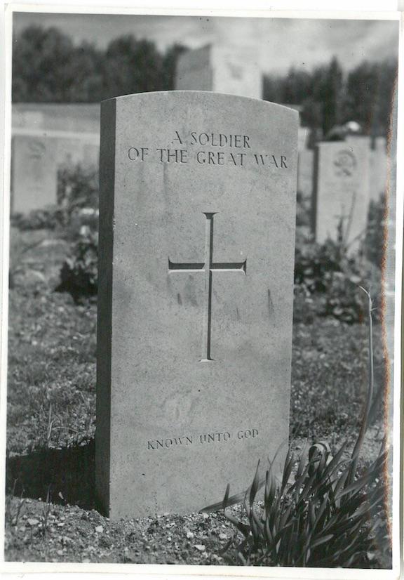 Unknown Soldier's Grave War Cemetery Jerusalem