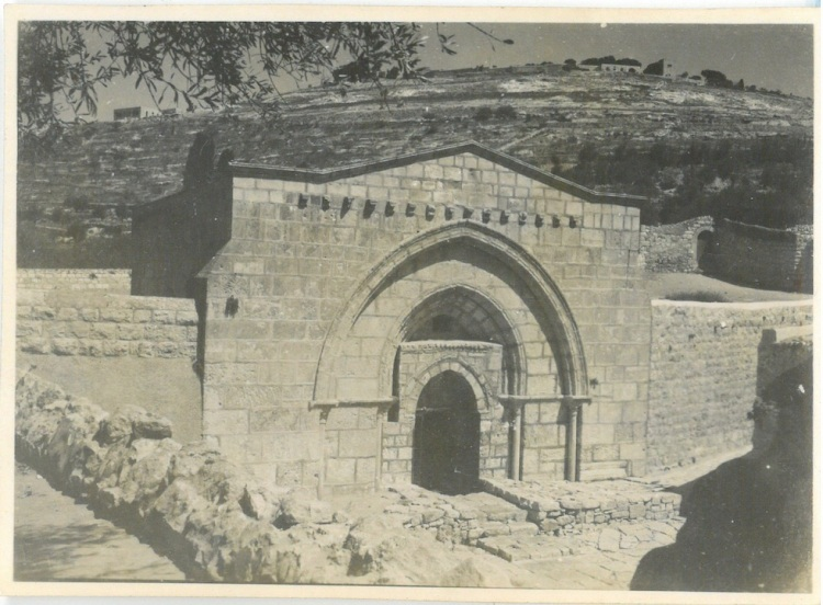 View of Solomon's Wall - Jerusalem
