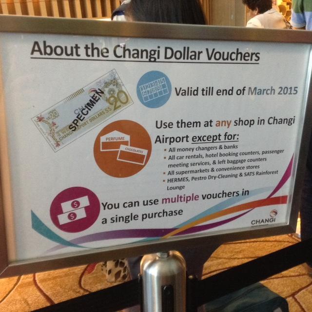 Changi Dollars Sign
