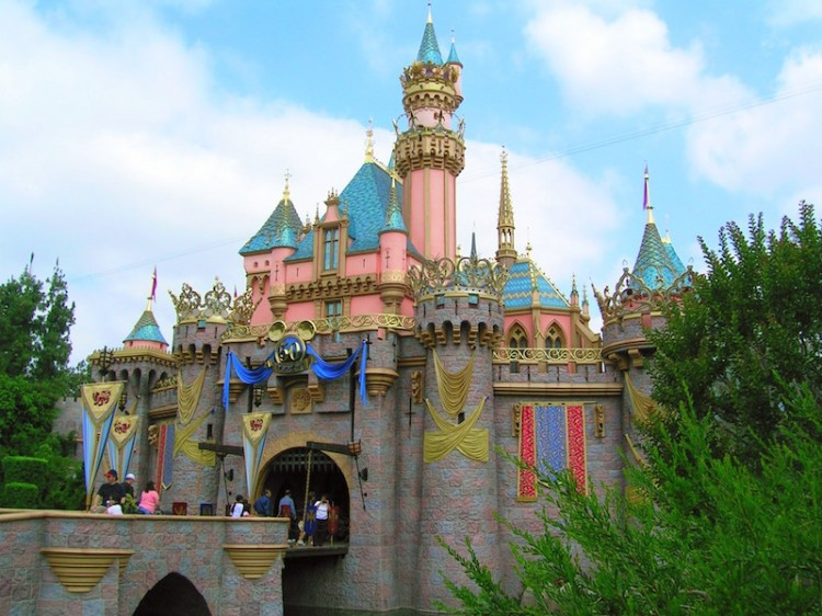 Disneyland's Sleeping Beauty Castle (July 2005)