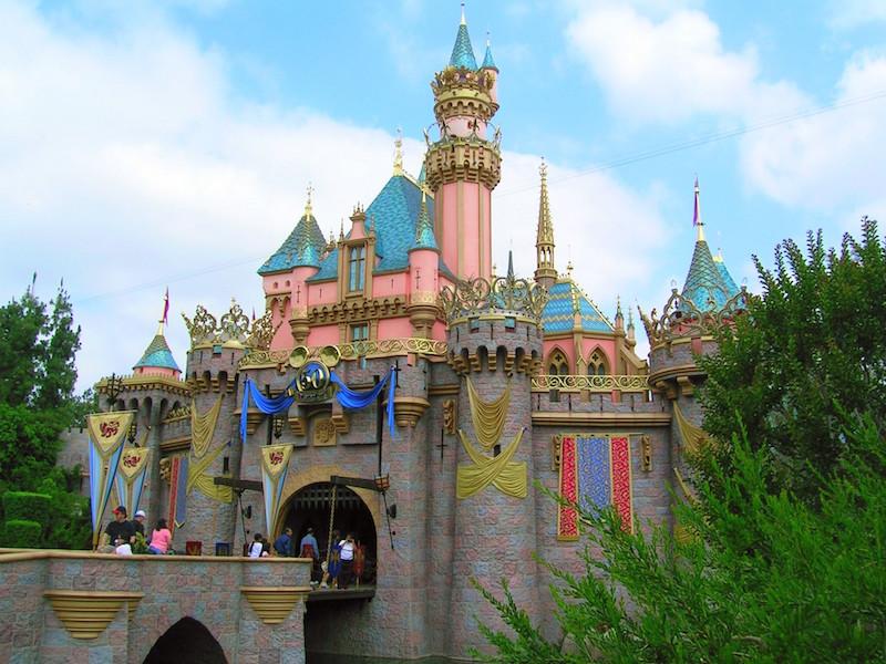 Disneyland's Sleeping Beauty Castle (July 2005)