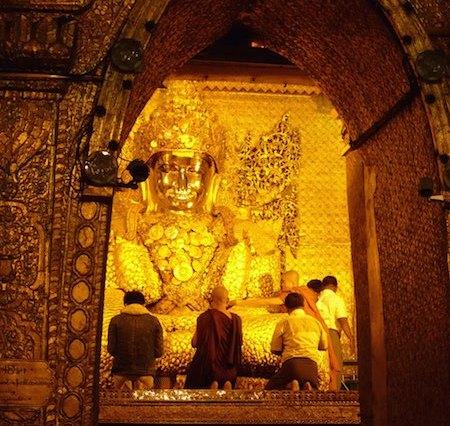 Mahamuni pagoda & Mahamuni Buddha