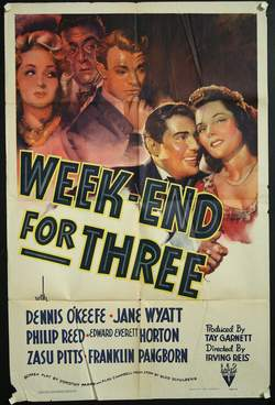 Week-End for Three (1941)