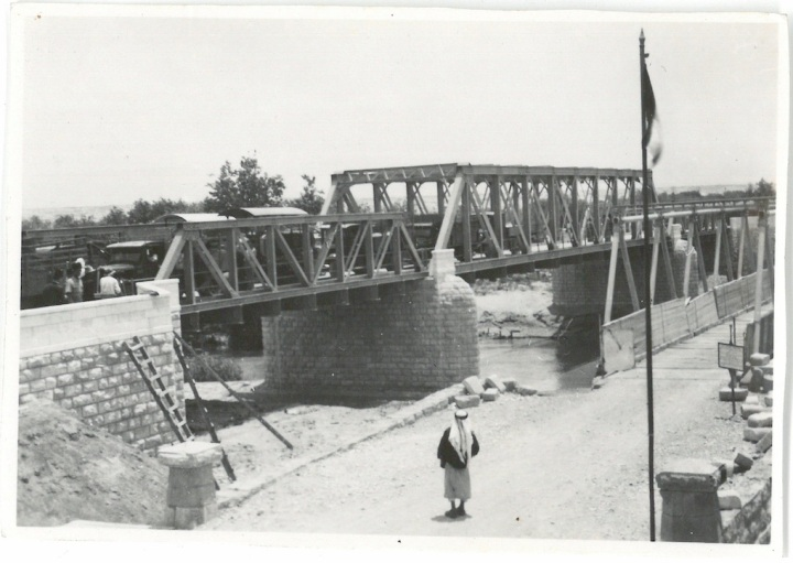 Allenby Bridge Spanning River Jordan - Palestine