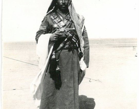 Arab Soldier of the Jordan Valley - Palestine
