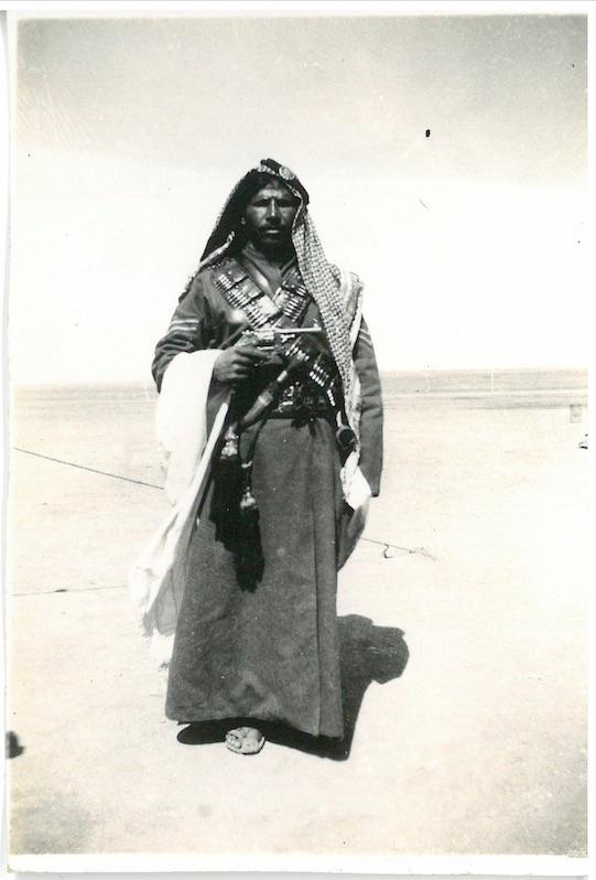 Arab Soldier of the Jordan Valley - Palestine