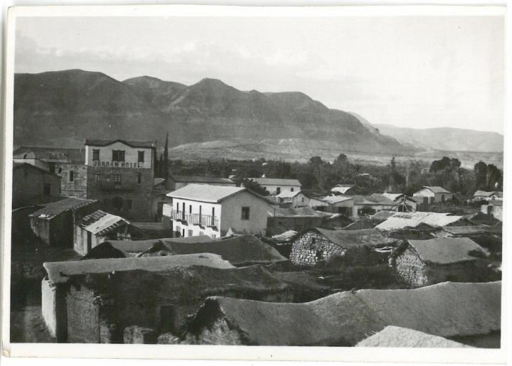 General view of modern Jericho - Jordan Valley - Palestine