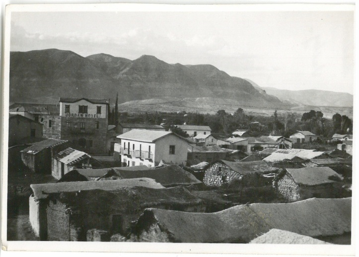 General view of modern Jericho - Jordan Valley - Palestine