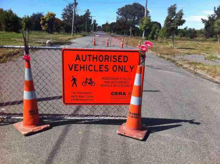Authorised Vehicles Sign