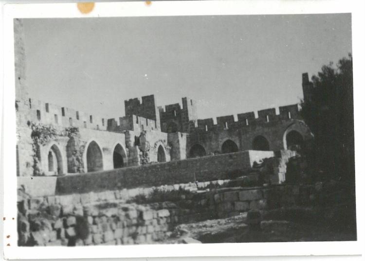 Ruins of Atlit Castle - Palestine