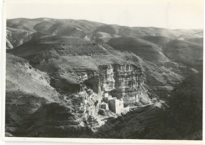 St George's Convent - Situated on side of Mount of Temptation - Jordan Valley - Palestine