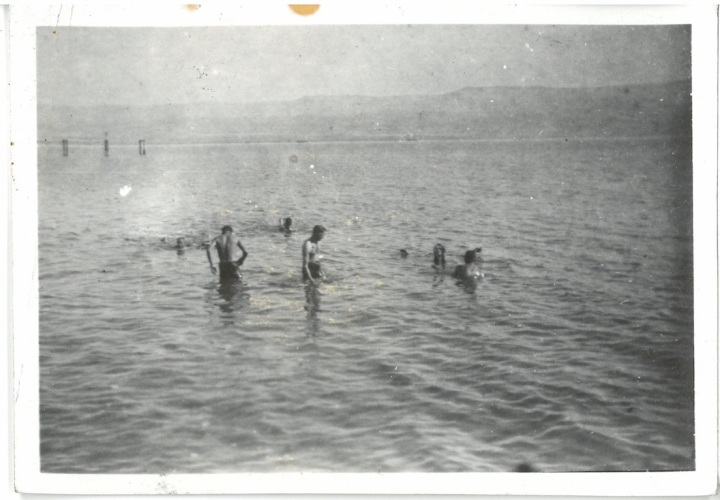 Swimming in the Dead Sea - Palestine