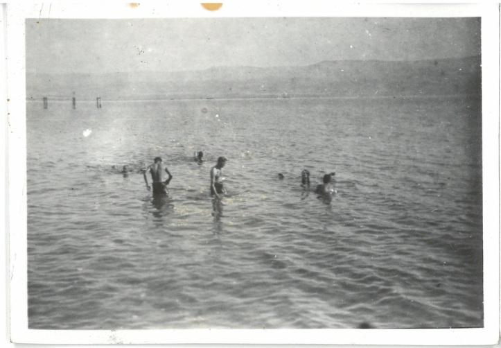 Swimming in the Dead Sea - Palestine