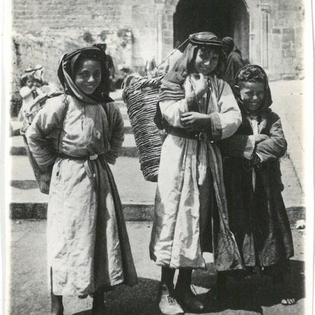 Arab Children - Nazareth