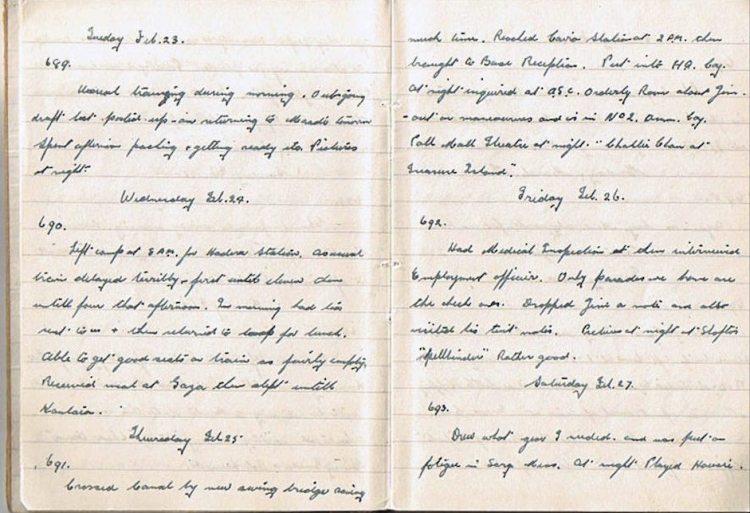 Feb 22-27 1943