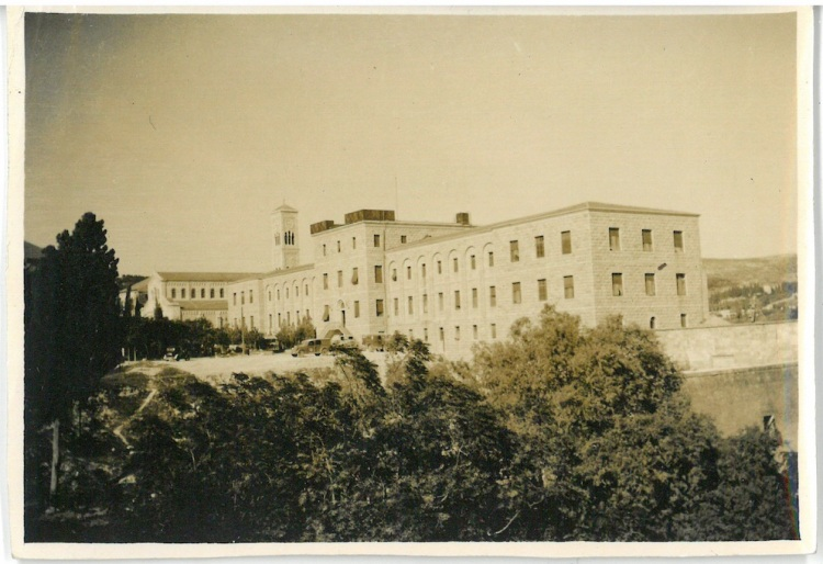 Franciscan Monastery which since the War has been changed into Army Hospital - and was for a while No.2 NZ General - Nazareth