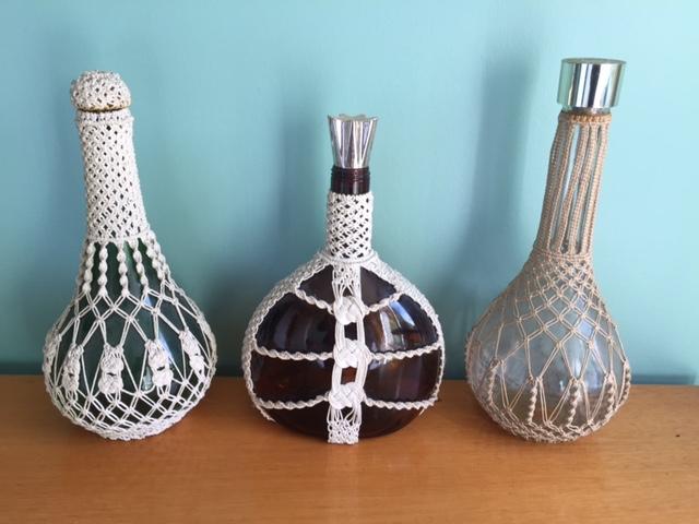 Macrame Bottles