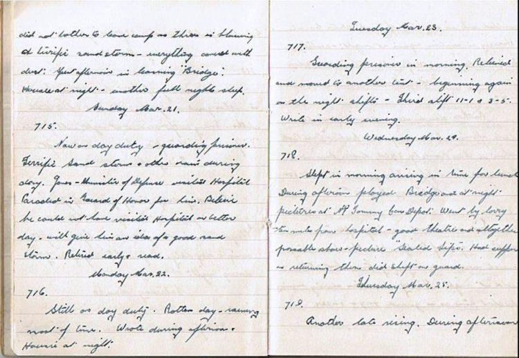 Mar 20-25 1943