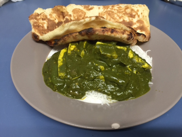 Palak Paneer from Curry-Land