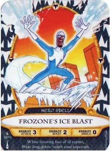 Frozone's Ice Blast