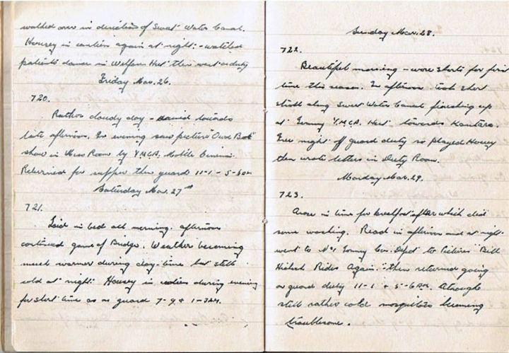 Mar 25-29 1943
