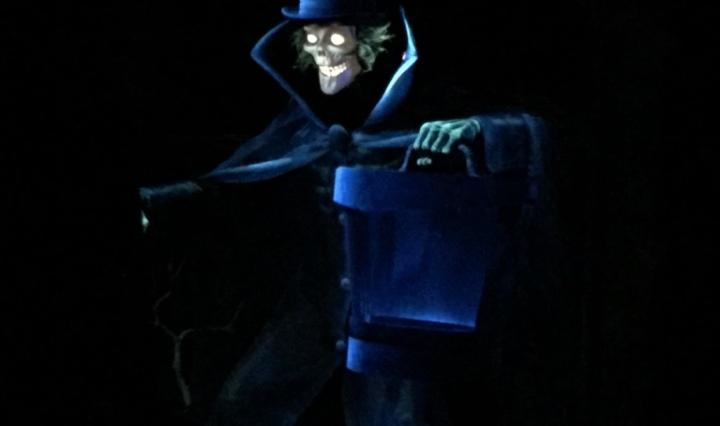 Disneyland's Haunted Mansion's Hatbox Ghost
