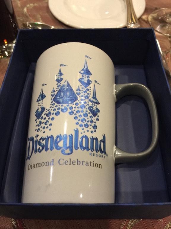 And the Diamond Celebration Starbucks Mug itself