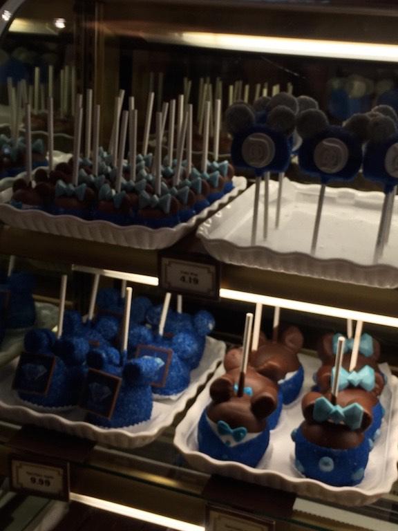 Diamond celebration inspired edibles