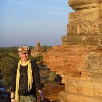 Sunset over Bagan, Myanmar (part 2)