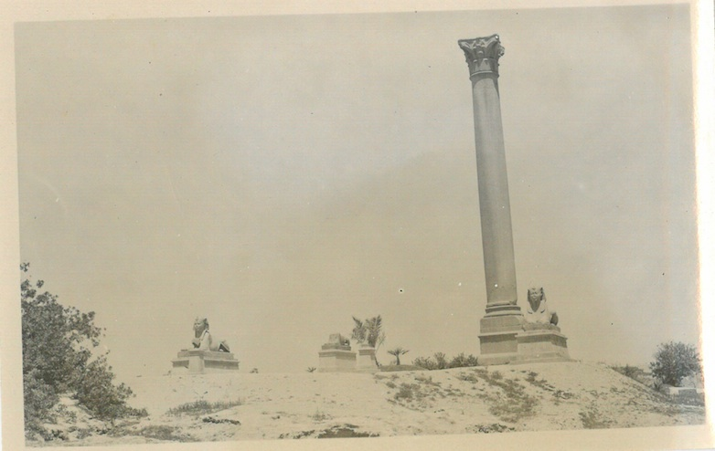 Pompey's Pillar - Alexandria