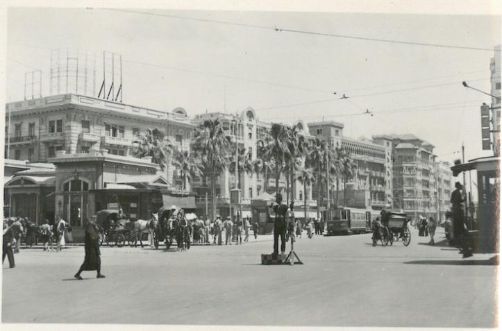 Ramleh Station - Tram Terminus for El Gaba, Stanley Bay etc - Alexandria