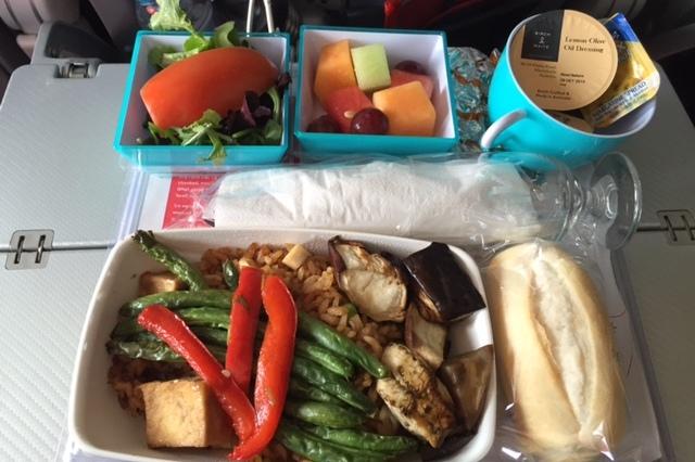 Vegetarian - Oriental Meal