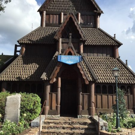 Stave Church at the Norway Pavilion
