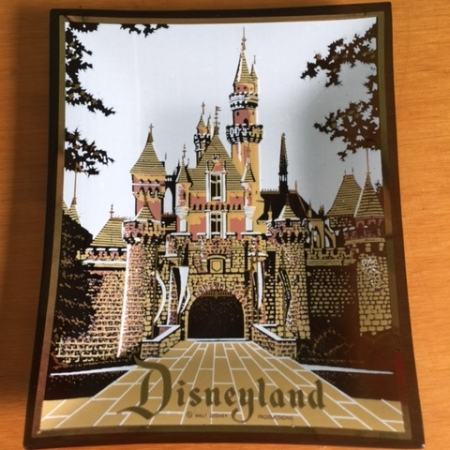Disneyland Glass Dish