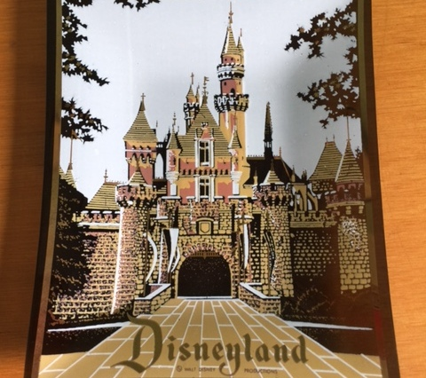 Disneyland Glass Dish