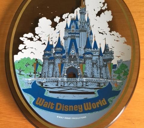 Walt Disney World Glass Plate