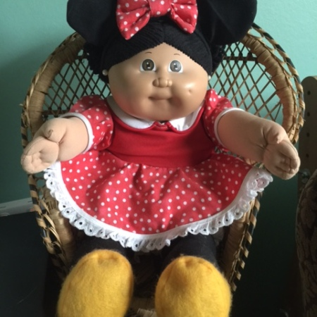 Minnie Mouse Cabbage Patch Kid