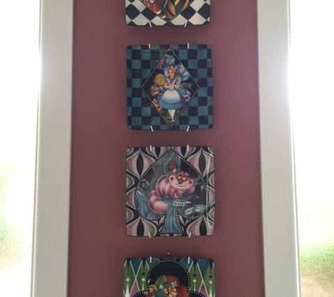 Alice in Wonderland set of plates