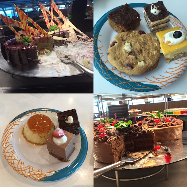 RCCL's desserts - they look better than they taste