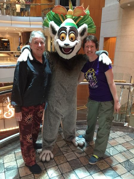 RCCL's Dreamworks King Julian
